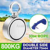 800KG Double Sided Recovery Magnet Salvage Neodymium Fishing Treasure