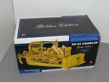 International TD-25 Crawler With Blade Ripper GOLD Edition By First Gear 1/25