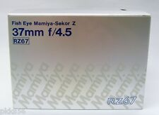 Mamiya RZ / RZ PRO II 37mm/4.5 FISHEYE lens *** EMPTY BOX ***