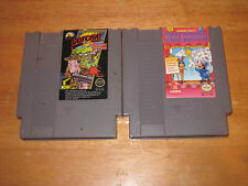 Gotcha  ( Nintendo NES ) and Trick Shooter Cleaned & Play Tested  SHIPS FAST
