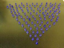 LEGO NEW Bulk Lot - 100 Purple Translucent Clear 1x1 Cone