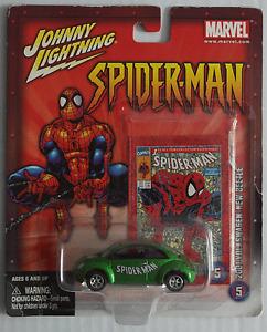 Johnny Lightning – VW New Beetle grünmet. Spiderman Neu/OVP