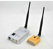 1.2G 8CH 800MW Wireless Camera Video AV Audio Transmitter Receiver FPV kit 1KM