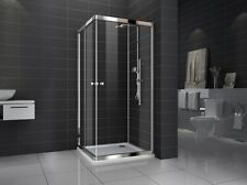 New Square Sliding Doors  shower screen with base 8mm Glass 900X900X1950