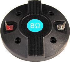 MEMBRANA BOBINA TWEETER DRIVER RICAMBIO COIL BOBBIN REEL 25mm 8 Ohm