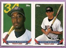 1993 Topps Traded Team USA Team Set w/ Todd Helton RC
