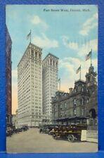 1915 Fort Street West, DETROIT, MI Postcard