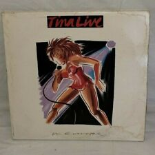 Tina Turner Live in Europe 2x LP Capitol C1 90126 w/ booklet G/NM Gatefold Bowie