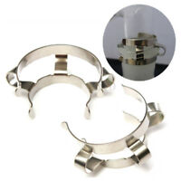 2pcs 24# Stainless Steel Clip Keck Clamp for 24/29 24/40 Glass Ground Joi S H5B1