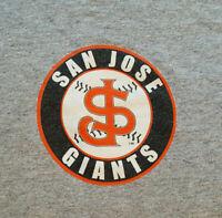 San Jose Giants SJ Logo T Shirt XL EUC X-Large San Francisco Baseball INV2449