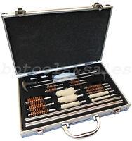 78pc Universal Gun Cleaning Kit Rifle Pistol Shotgun Handgun Firearm Cleaner Kit