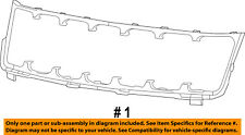 Jeep CHRYSLER OEM 17-18 Grand Cherokee-Grille Grill Surround Trim 5XL23TZZAA