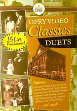 Opry Video Classics Duets Country Music RARE Genuine R4 DVD as Grand Ole