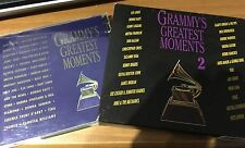 GRAMMY'S GREATEST MOMENTS VOLUMENES I-II-III-IV