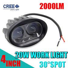 "4""INCH 20W SPOT LED Work Light Bar Offroad Driving Lamp Car SUV ATV 2000LM CAR"