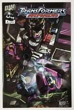Transformers Armada #2 (Dreamwave 2002) James Raiz Cover