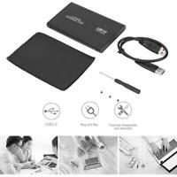 Festplattengehäuse 2,5 Zoll USB 3.0 zu SATA SSD HDD Externes Gehäuse 6 Gbit/s