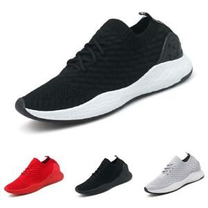 Mens Leisure Sneakers Shoes Trainer Sports Outdoor Running Gym Jogging Casual B