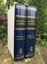 Española Bible LIBRO Hebrew-spanish Jewish Tanakh Old Testament 5 Books of Moses