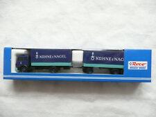 Roco 1577 Mercedeszug mit Plane der Spedition Kühne und Nagel  Maßstab 1:87