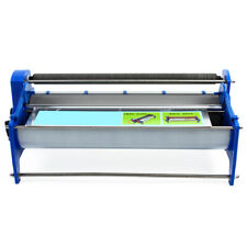 Gluing Coater Machine Wallpaper Glue Paste Poster Self-Roller adhesive 8L groove