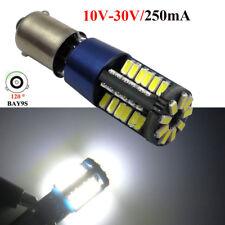 12-24V LED UPGRADE 3W BAY9S 435 H21W 57 4014 LED WHITE SIDELIGHT BULBS CANBUS*10