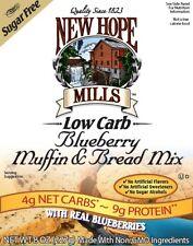 Nueva esperanza Mills Sugar Free Muffin Y Pan Mix-Blueberry 227 g, Low carb