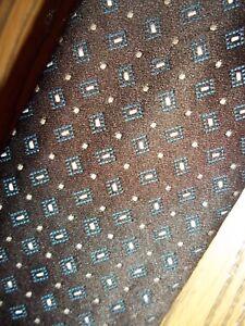 Pierre Cardin Brown Dotted Necktie Tie