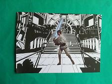 ►►rare Polish postcard picture Star Wars Luke Skywalker Jedi