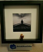 Game of Thrones Lego 3D Frame John Snow White Walker Tyrion Lannister Arya Stark