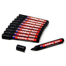 10 x edding - Permanent-Marker 300 (300/1) - schwarz - 10er-Pack