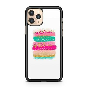 Stunning Fine Lush Yellow Pretty Cool Pink Colourful Stripes Phone Case Cover