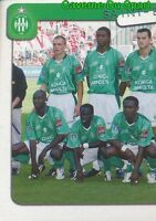 322 EQUIPE TEAM 1/2 FRANCE AS.SAINT-ETIENNE STICKER FOOT 2005 PANINI