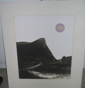 Nocturne For Water III Aquatint, Shirley Jones Listed UK Artist