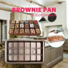 Cooking Brownie Perfect Brownie Pan 3 Easy Steps Set Brownie in Minutes-Perfect