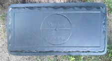 """Concrete bench mold First my Mother  Forever my friend  3/16th"""" abs plastic"""