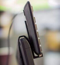 Wacom Cintiq 22HD Tablet 3d printed Keyboard tray hooks.