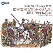 STRAUSS + DON QUIXOTE - ROSTROPOWITSCH/KARAJAN/BERLIN PHILHARMONIC  CD NEU