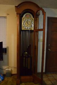9 Tube Hall Chime Grandfather Clock Bailey Banks & Biddle Pickup Lakeland FL.