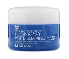 MIZON Good Night White Sleeping Mask 80ml Whitening Hydrating +1 sample EXP 2022