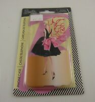fits iPhone 6  phone case ELEGANTLY dress Barbie DOLL party gown black and pink
