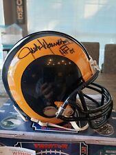 JACK YOUNGBLOOD Mini-Helmet Auto Los Angeles Rams HOF 01' TRISTAR Authentic