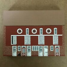 Cat'S Meow Village - 1992 Pennsylvania Bank Barn - Signed Faline 1992 Hex Signs