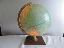 "Replogle 12"" World Premier Series Light Up Globe  Leroy Tolman - USSR Zaire"