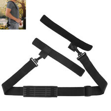 Fishing Rod Carrier Strap Sling Band Adjustable EVA Shoulder Belt Travel Tackle