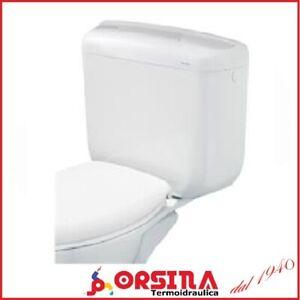 Cassetta WC zaino  MULTY per vaso ceramica appoggio 2 tasti BAMPI