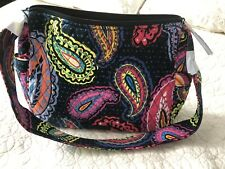 "NWT Vera Bradley ""On the Go"" Crossbody shoulder Bag purse in Twilight Paisley"