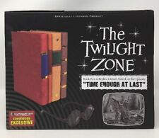 The Twilight Zone Henry Bemis Time Enough at Last EE Exclusive Book and Glasses