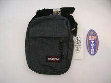 EASTPAK BORSELLO PICCOLO THE ONE 77H BLACK DENIM GRIGIO MELANGE