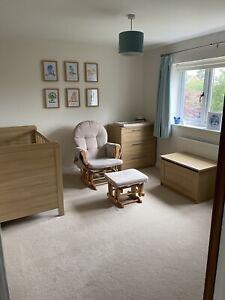 Mamas & Papas Rialto Oak Nursery Furniture